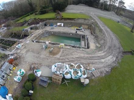New swimming pool taking shape 14