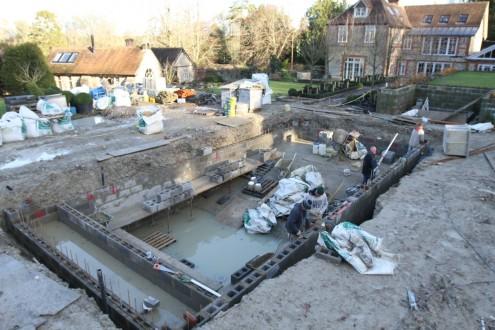 New swimming pool taking shape 4