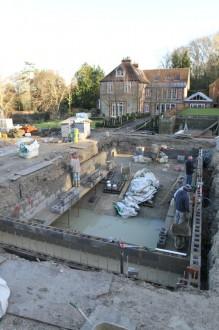 New swimming pool taking shape 10
