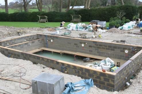 New swimming pool taking shape 12