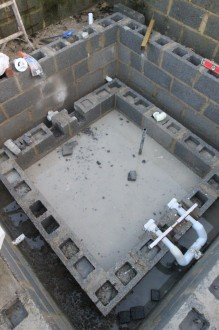 New swimming pool taking shape 8
