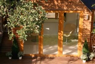 home office and garden studio